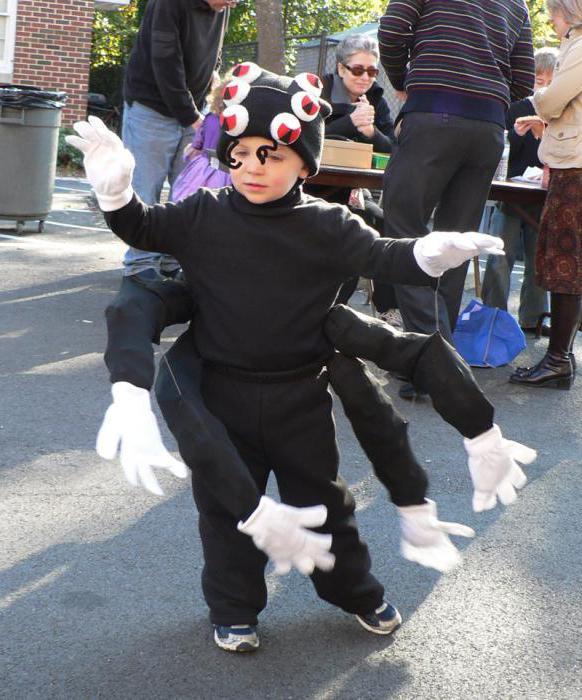 костюм человек паук 5 лет