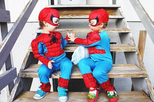 человек паук детский