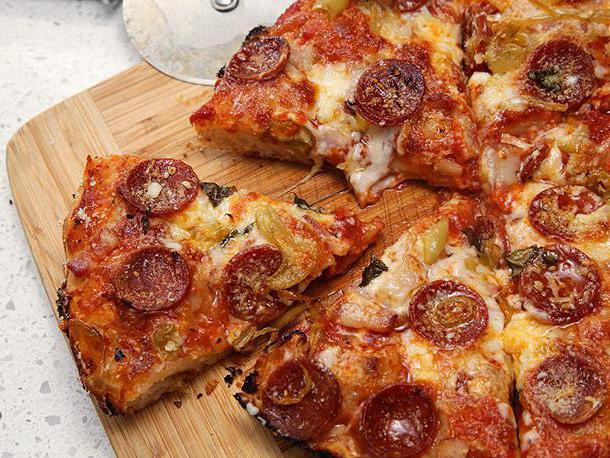 жидкое тесто для пиццы быстрого приготовления