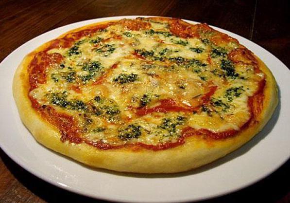 дрожжевое тесто для пиццы быстрого приготовления