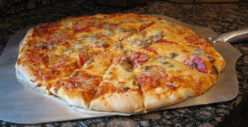 быстрое приготовление пиццы