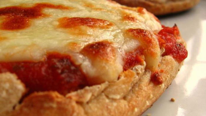 как приготовить пиццу быстрого приготовления