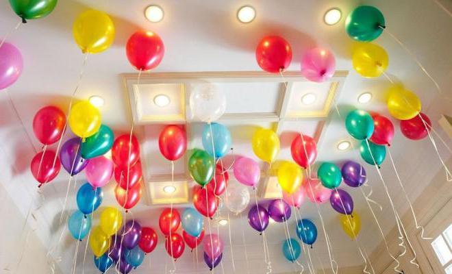 как украсить комнату на день рождения ребенку 2 года
