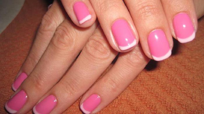 френч розовый