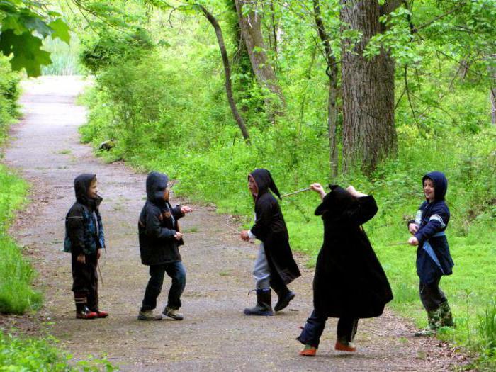 Сценарии квестов для детей на улице
