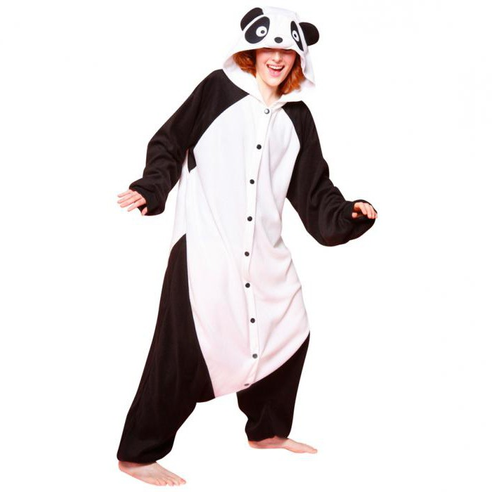 Женские костюмы панда