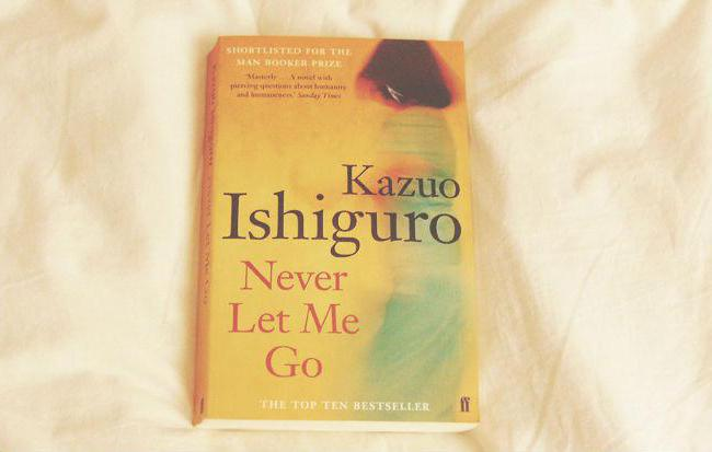 compare the contexts of ishiguro's never