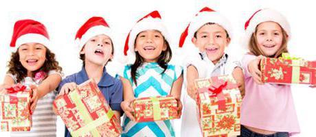 подарок на новый год детям в детский сад