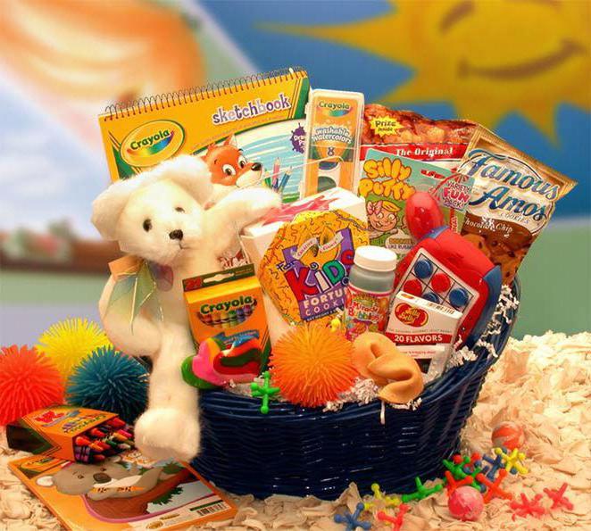 Детские подарки к новому 553