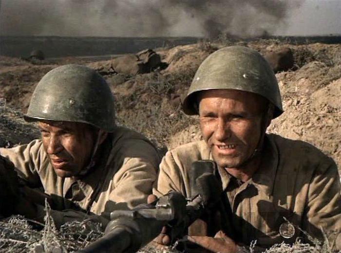 Русские военные фильмы список