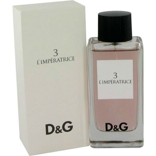Туалетная вода Dolce Gabbana 3 l Imperatrice  описание 32a62eb214540