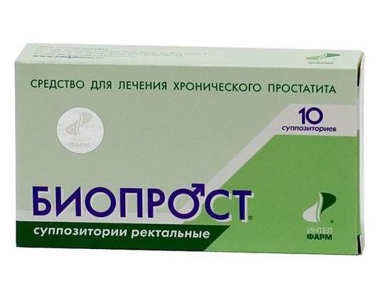 Свечи для лечения простатита у мужчин