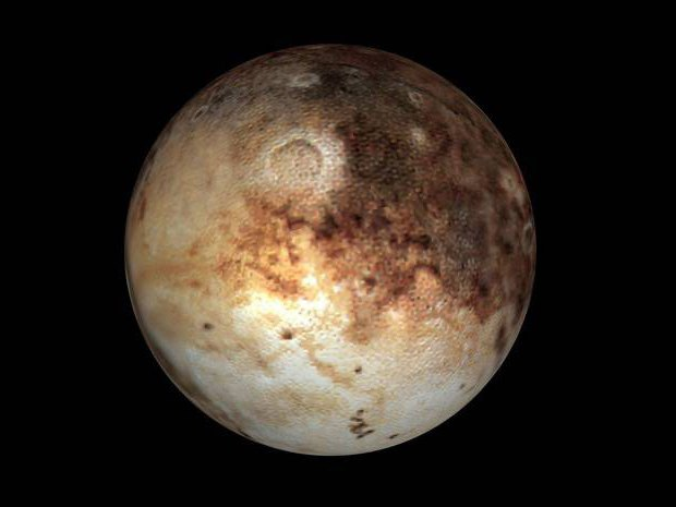 планета плутон фото