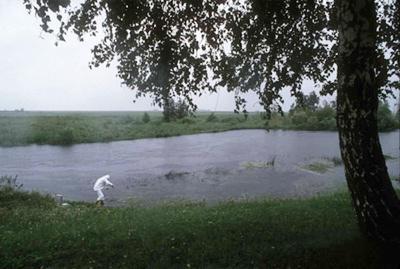 куда впадает река теча
