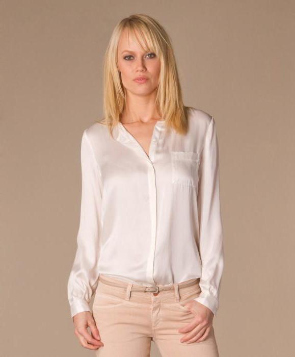 Фото блузки с рюшами