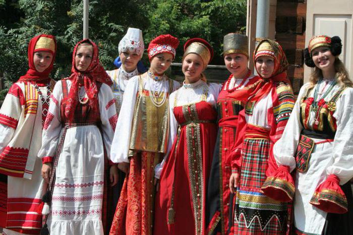 современная славянская одежда