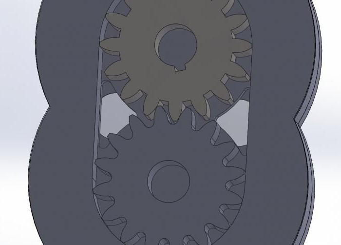 редуктор цилиндрический двухступенчатый