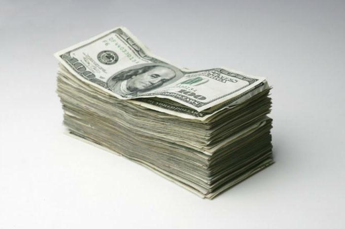 все номиналы долларовых купюр