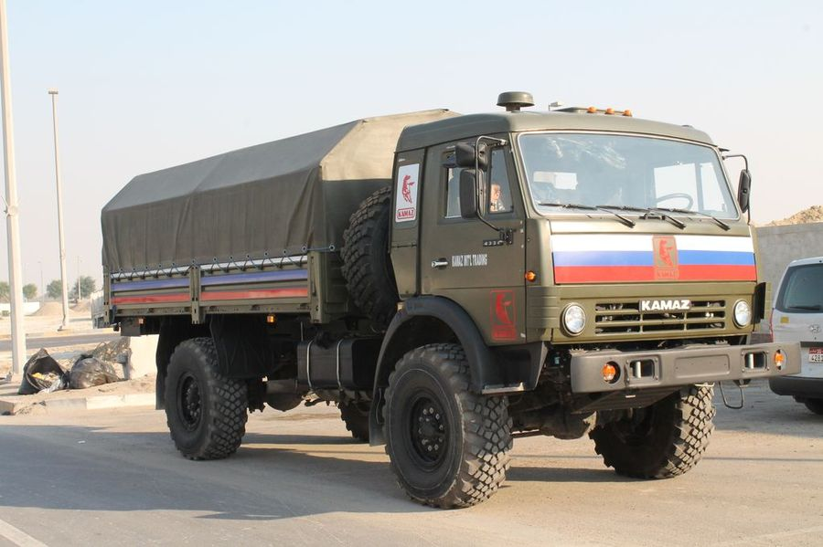 КАМАЗ-4326 на выставке