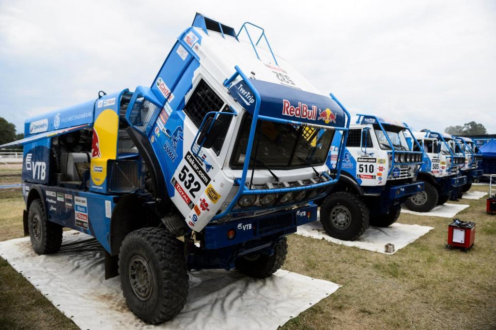 КАМАЗ-4326 на гонках
