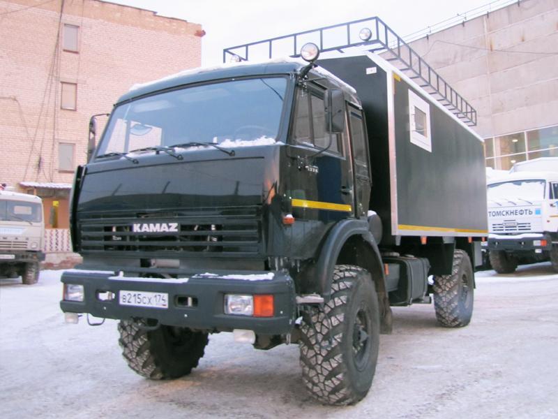КАМАЗ-4326 зимой