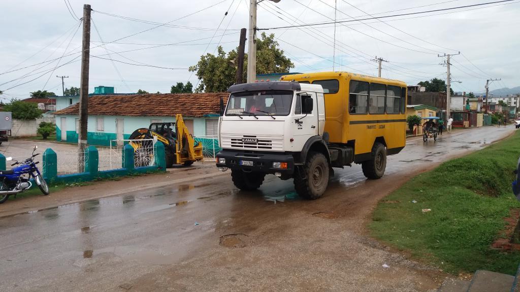 КАМАЗ-4326 в Тринидаде