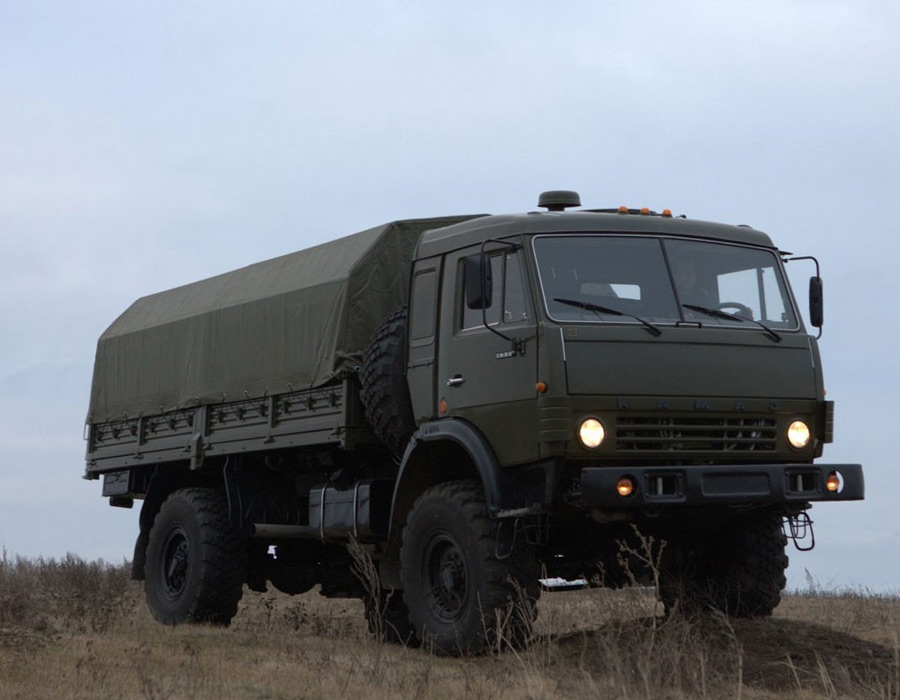 Военный КАМАЗ-4326
