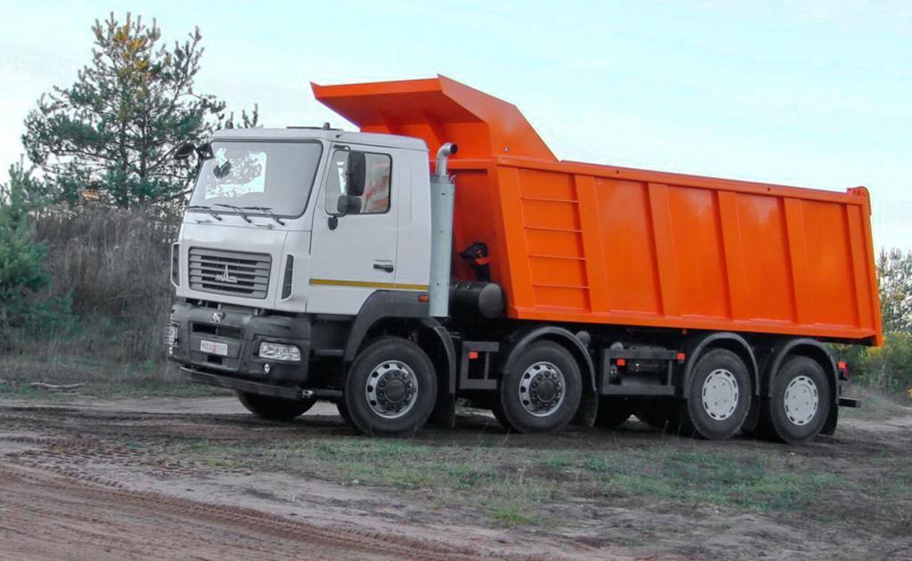 МАЗ 6515 на трассе