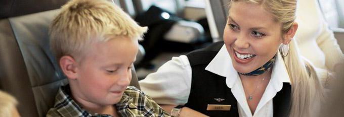 Услуга «Аэрофлота», S7: сопровождение ребенка в самолете. Правила, отзывы