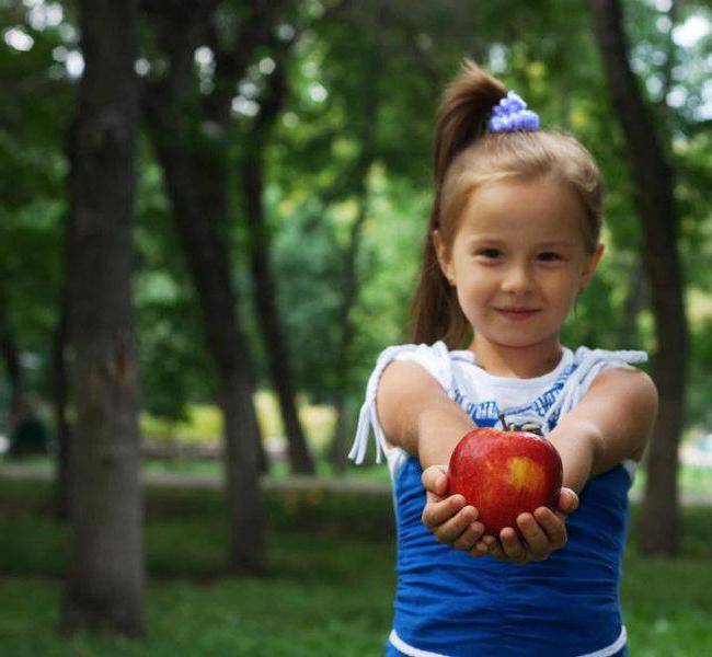 Пословицы про яблоко для детей