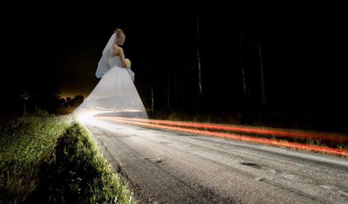 снится знакомая в белом платье