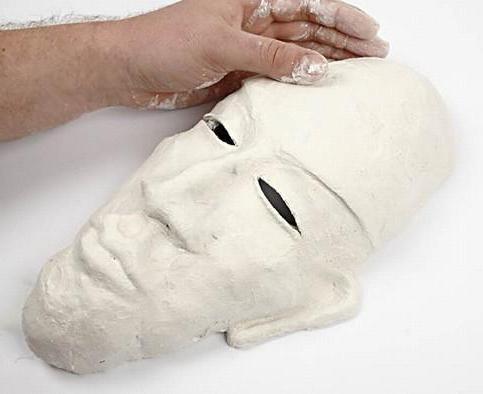 африканская маска своими руками