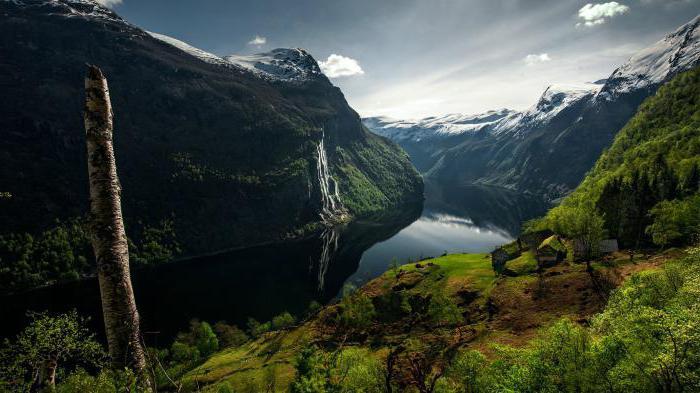 королевство норвегия достопримечательности берген