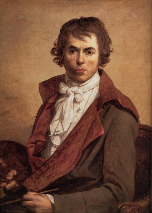 Jacques-Louis David painting: the description and photos