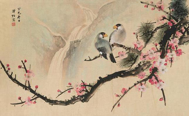 Guohua - Chinese painting water colours and ink. The Chinese artists. Painting training