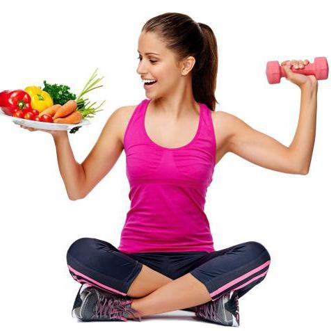 похудение с помощью правильного питания и спортзала
