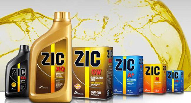 масло zic x7 10w 40