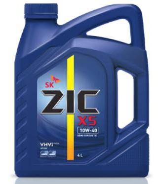 масло zic 10w 40