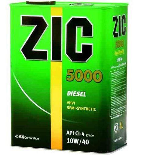 масло zic x7 ls 10w 40