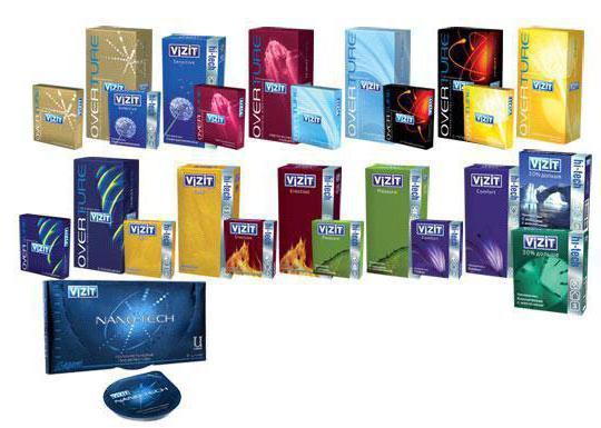 Полиуретановый презерватив Vizit Nano-Tech