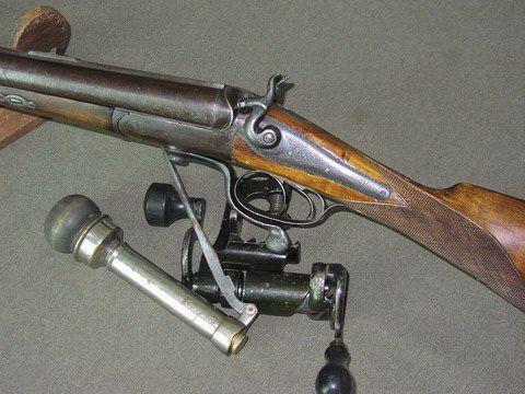 Старые ружья охотничьи (фото)