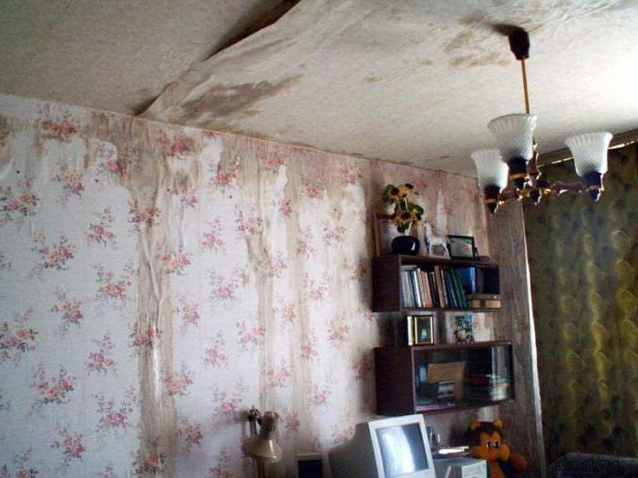 ремонт квартиры после залива