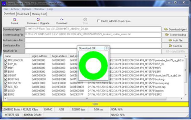 Программа прошивки для Леново А328