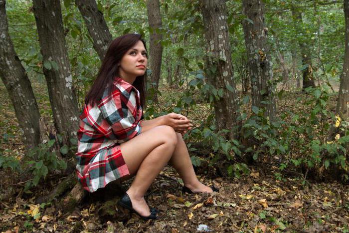 Фотосессия силуэтная девушки осенью фото