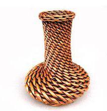 вазы напольные высокие своими руками из трубы