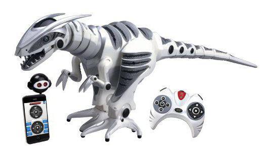 динозавр на пульте управления со звуком