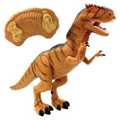 игрушка робот динозавр на пульте управления
