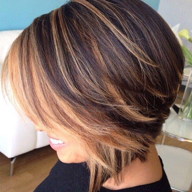 Короткая стрижка для вьющихся волос 2017 119