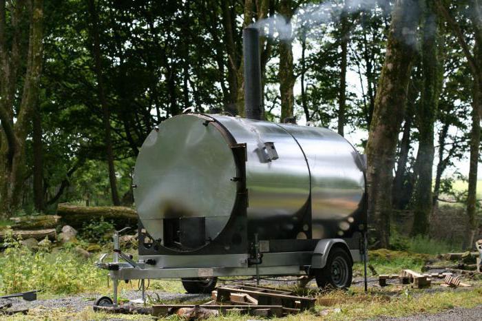 Печь для древесный уголь своими руками