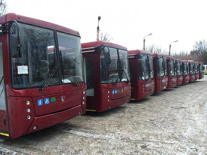 характеристики автобуса нефаз 5299